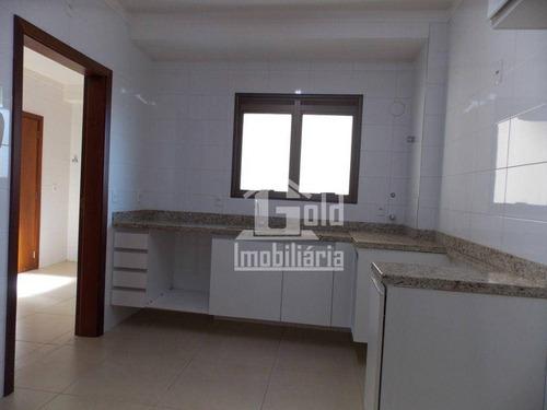 Imagem 1 de 16 de Apartamento Com 3 Dormitórios Para Alugar, 142 M² Por R$ 3.200/mês - Jardim Irajá - Ribeirão Preto/sp - Ap4584