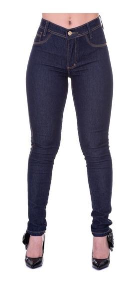 Calça Skinning Feminina Jeans Cintura Alta Frete Gratis
