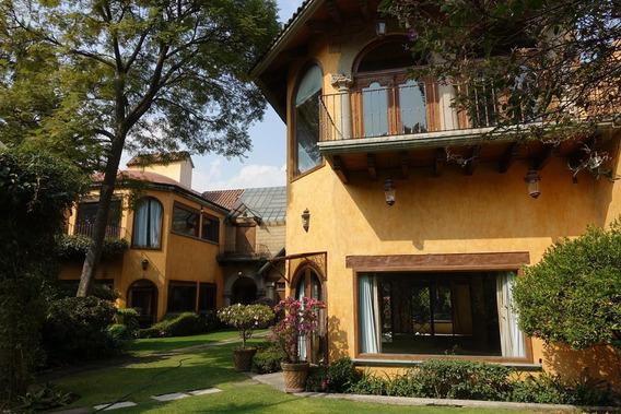 Rento Hermosa Residencia Jardines Del Pedregal !!