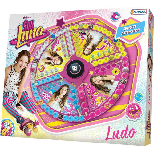 Juego Ludo Matic Autentico Disney Soy Luna Original
