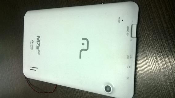 Tampa Traseira Tablet M7s Quad Core Branca Multilaser