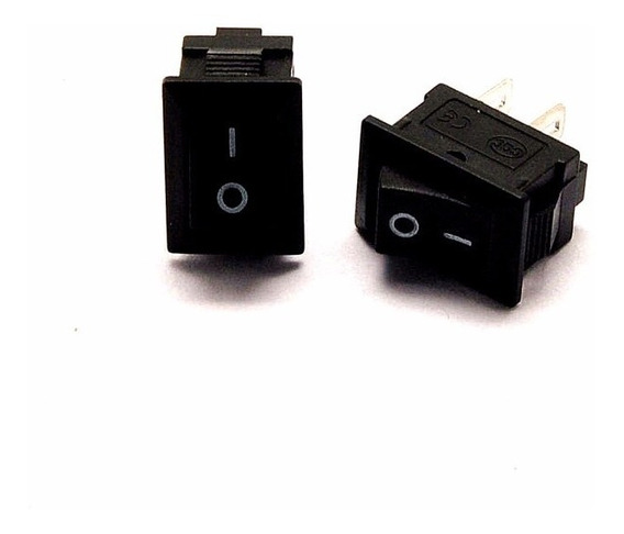 Kit 10 Botão Interruptor On Off Kcd11 Mini Tic Tac Pequeno