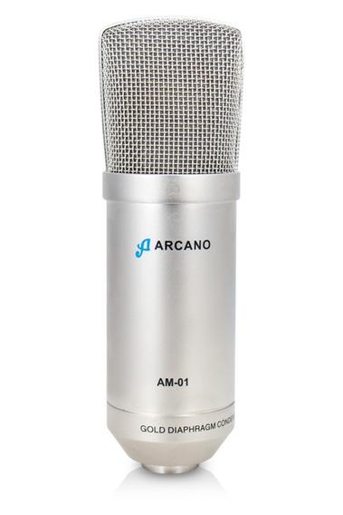 Microfone Arcano P/ Estúdio Am-01 Condensador