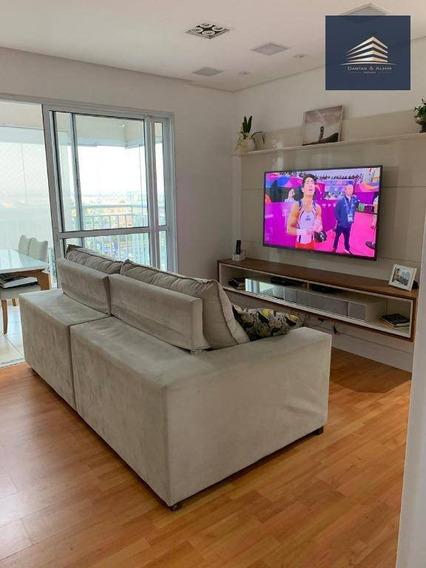 Apartamento No Condomínio Supera, Vila Augusta, Aceita Permuta, 86m², 3 Dormitórios, 2 Vagas. - Ap0784