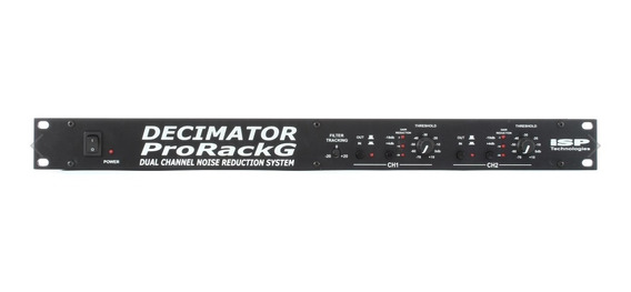 Isp Technologies Decimator Pro Rack G Noise Reduction System
