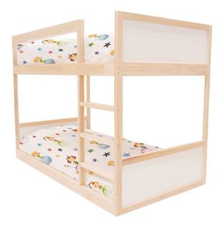 Litera Montessori Individual Infantil Madera Kit Sin Patas