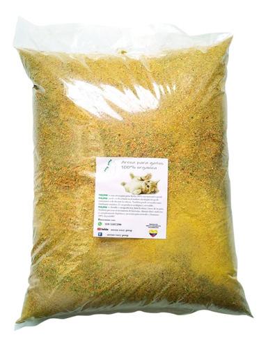 Arena Sanitaria Easy Poop Gatos Biodegradable Ecológica 5 Kg