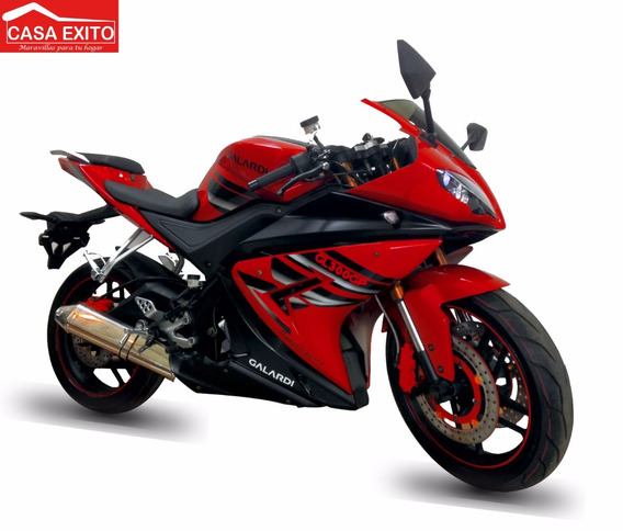 Moto Galardi Gl300gp 300cc Año 2019 Negro-rojo