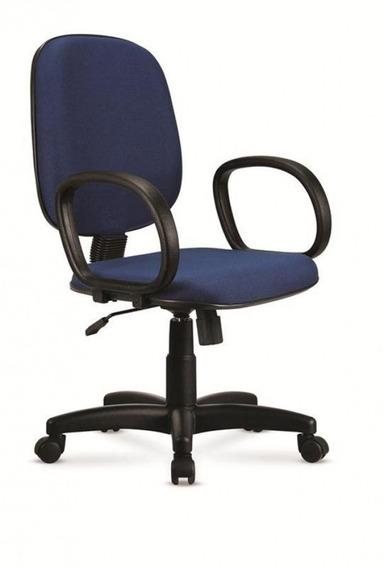 Cadeira De Escritório Giratória Executiva Azul - Cercatto