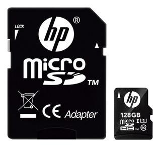 Cartao De Memoria Micro Sd 128gb Classe 10 U1 Hp