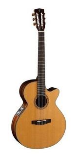 Guitarra Electroacústica Nylon Cort Cec 7 Tb 3ts