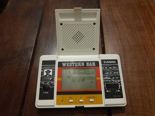 Videojuego Casio Western Bar 1984 *excelente Estado*