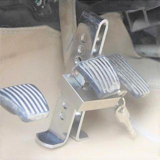 Baston Bloqueador Traba Pedal Automovil Y Camioneta