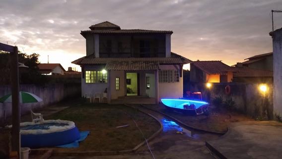Casa 2 Andares Em Contrução, Com 3 Quartos E 3 Banheiros