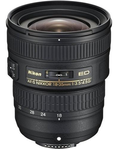 Lente Nikon Af-s Nikkor 18-35mm - Novo!