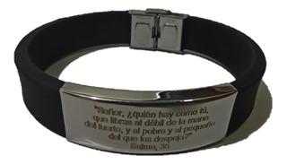 Vnox Pulsera Hombre -salmo 91 -salmo 35 -salmo 51 -salmo 23