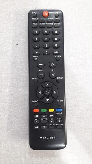 Controle Usado Buster Tv - Pronta Entrega - Modelo Max-7963