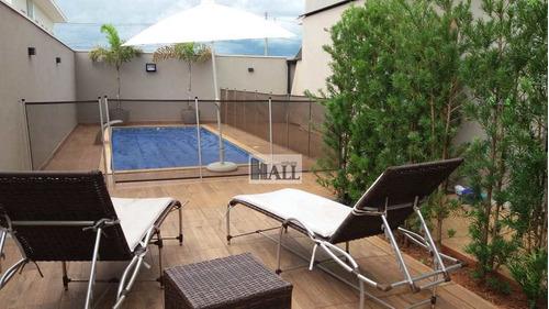 Casa À Venda Condomínio Damha Vi Com 4 Quartos, 4 Vagas E 260m² - V7970