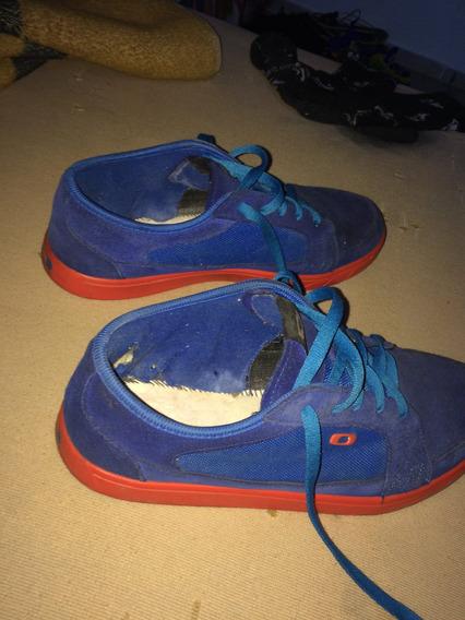 Tenis Oakley Westcliff Azul/vermelho
