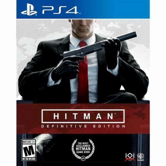 Hitman Definitive Edition Ps4 Lacrado