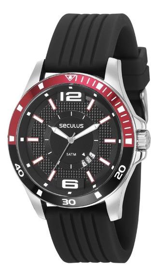 Relógio De Pulso Masculino Seculus 28932g0svni1