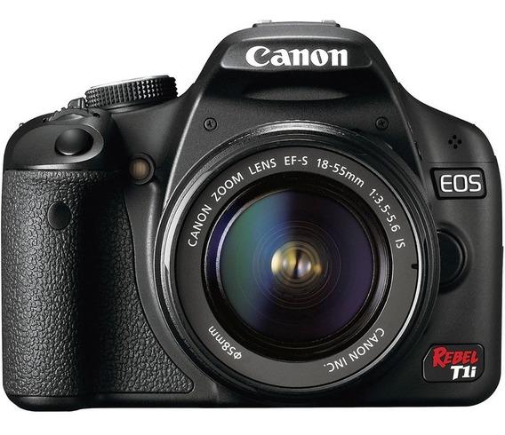 Canon Eos Rebel T1i Digital Slr Câmera Usada