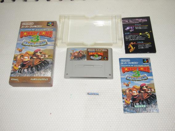 Donkey Kong Country 3 Original Super Famicom Snes Japones