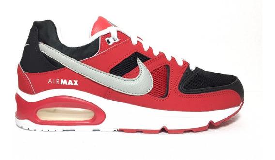 Tenis Nike Air Max Command Black/metalic Silver