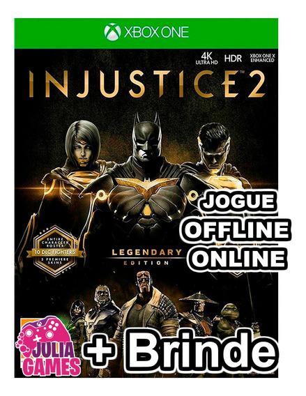 Injustice 2 Edição Suprema Xbox One Digital + Brinde