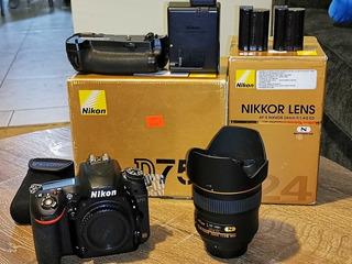 Cámara Nikon D750 Y Lente Nikon 24 Mm F1, 4