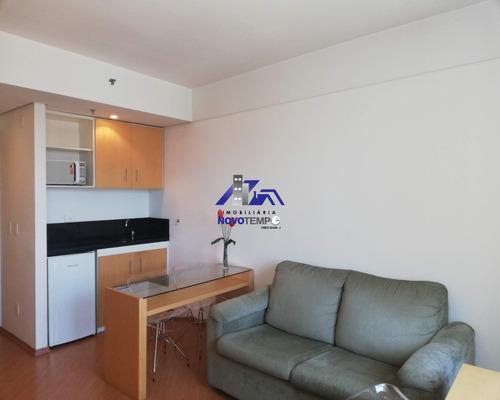 Lindo Flat Para Venda Ou Locação Alphaville 1 Vaga Confort Suíts - Barueri Sp - Ap00719 - 68757045
