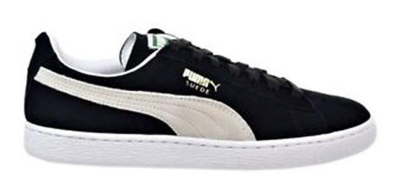 Zapatillas Moda Puma Suede Classic Eco Negras - Hombre