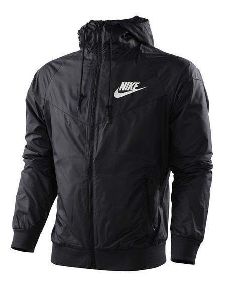 Jaqueta Corta Vento Nike Masculina Preta Impermeável