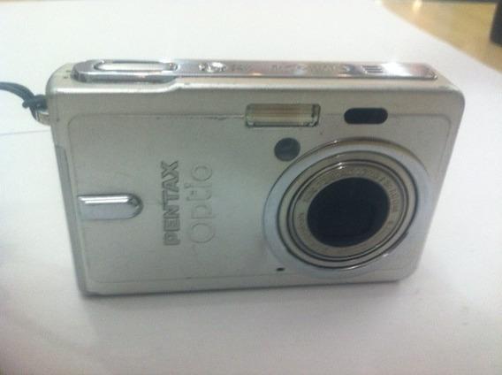 Camera Digital Pentax Optio S6 Funcionando Perfeitamente