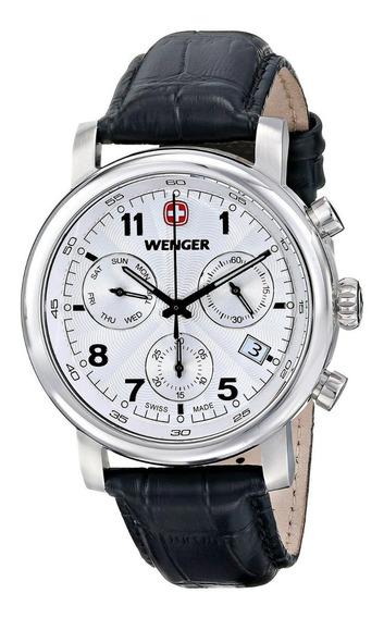 Reloj Wenger 01.1043.105 Clásico Crono Urban Elegante