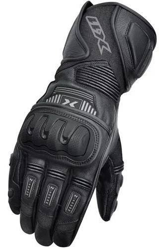 Luva Motociclista X11 Impact 2 Cano Longo De Couro Proteções