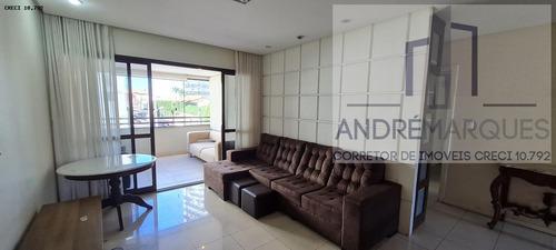 Imagem 1 de 15 de Apartamento Para Venda Em Salvador, Caminho Das Árvores, 4 Dormitórios, 3 Suítes, 5 Banheiros, 2 Vagas - Am457_2-1173716