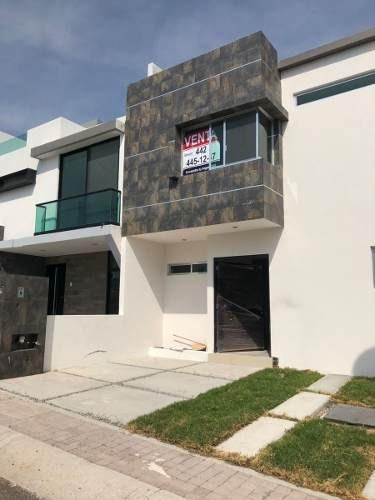Hermosa Casa En Juriquilla San Isidro, 4ta Recámara En Pb.-