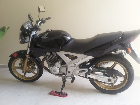 Moto Honda Twister 250 Preta Ano 2004 Reliquia