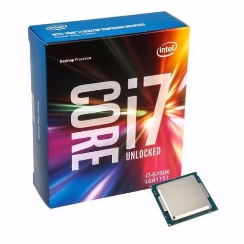 Processador Intel I7 6700k 4ghz 8mb G.6 (skylake) Lga 1151