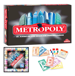Juego Metropoli Bancario Monopolio Barrios Montevideo El Rey