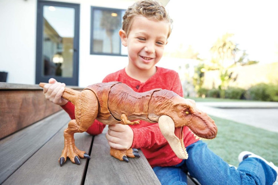Boneco Dinossauro T-rex Jurassic World - Com Sons