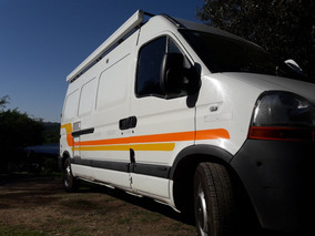 Motorhome Renault Master 2012 Muy Poco Uso Impecable
