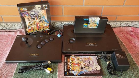 Neo Geo Aes Console Japonês Funcionando A2