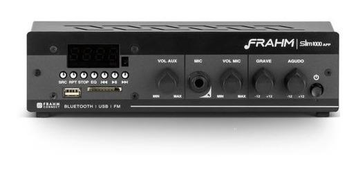 Frahm Amplificador Som Ambiente Slim1000 Usb/sd/radio 30w