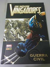 Os Novos Vingadores - Guerra Civil - Marvel Deluxe - Panini