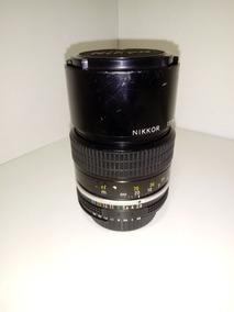 Lente Nikon Nikkor 135mm F2.8 Manual Serve Em Câmera Digital
