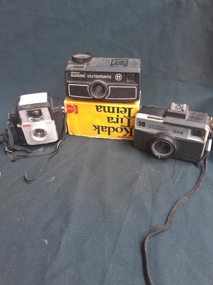 Lote Kodak Rio 400, Instamatic 54x, Instamatic11 (tirateima)