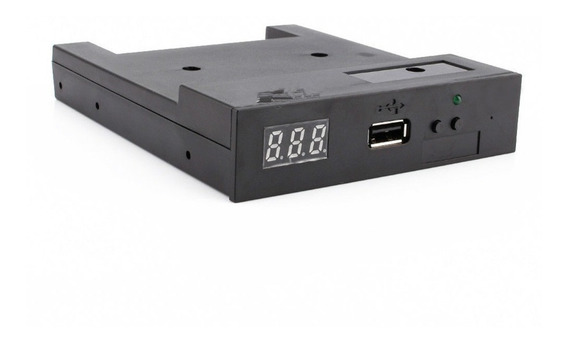 Drive Emulador Disquete 1.44 Pendrive Usb Maquina Pc Buga005