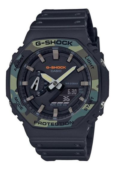 Reloj Casio G-shock Ga-2100su-1a Hombre Original E-watch